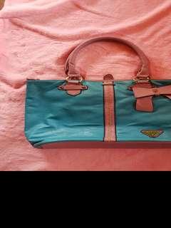 Big pastel shoulder bag