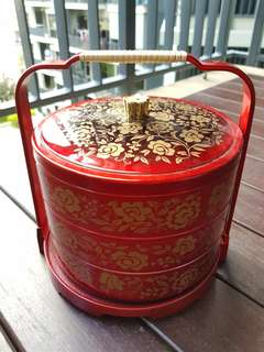 CNY tibits container