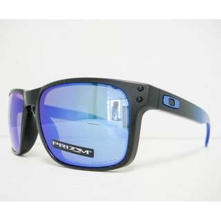 Authentic Brand New In Box OAKLEY OO9102-D255 HOLBROOK polarized SAPPHIRE FADE/PRIZM SAPPHIRE Sunglasses
