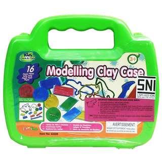 Mainan Edukasi Anak MODELLING CLAY CASE - 63328