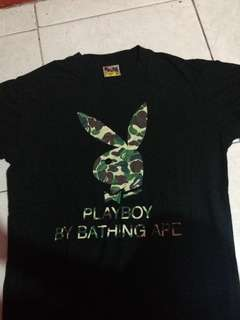 Tee a bathing ape (bape) x Playboy M original