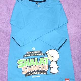 Long Sleeve T shirt for girl Baju T budak perempuan