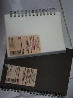 Take all: Muji notebook