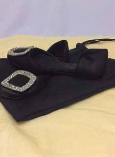 Authentic Roger Vivier Satin Sandals