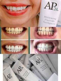 Safe and whitening toothpaste