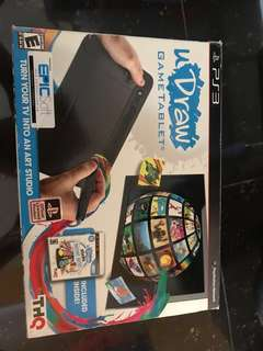 Playstation 3 uDraw Game Tablet and Playstation 3 games