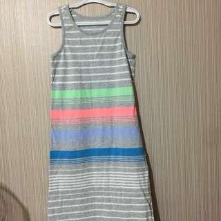 old navy gray dress