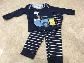 Mothercare 2 piece pyjamas