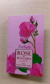 (搬家出清) 保加利亞玫瑰 試管香水/針管香水