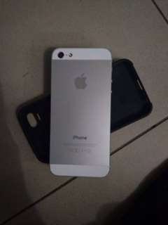 Iphone5. Box charger cover given conditon very good