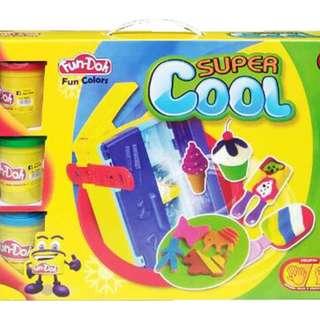 Mainan Edukasi Anak FUN DOH SUPER COOL - 28107