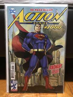 Action comics #1000 covers(price reduced)