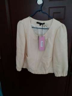 Air..condition jacket  for Summer or Autumn wear, size 38.100percent  new