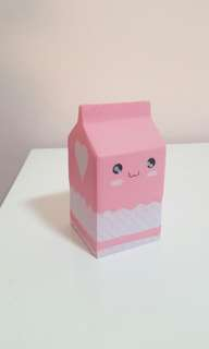 NEW Milk Carton Squishy
