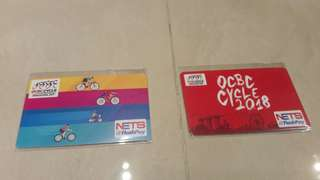 OCBC CYCLE 2017 & 2018 Nets FlashPay Card