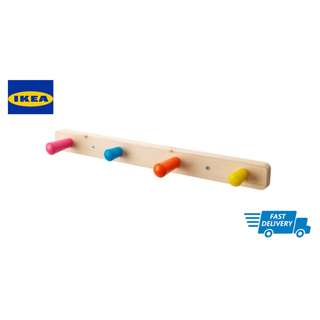 IKEA FLISAT Knob rack with 4 knobs
