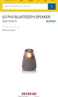 LG portable Bluetooth Speaker