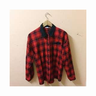 Vintage Shirt Red plaid