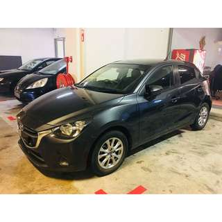 MAZDA 2 SPORTS P PLATES ACCEPTED