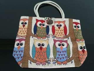 ( NEW) OWL BAG
