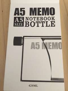 A5 Memo Notebook Bottle (RP ver)