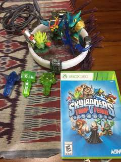 Xbox360 Skylander trap team & portal