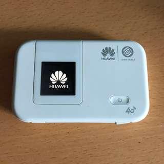 Huawei E5375 全球通用pocket Wi-Fi蛋連1粒原廠電1粒代用電