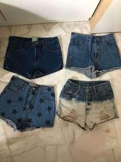 $7 Denim Shorts