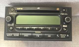 Toyota OEM 2 Din Head unit