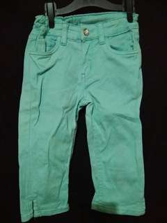 H&M pants adjuste for baby girls