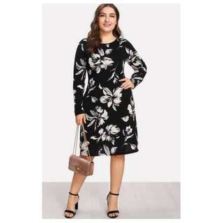 Casual Plus Size Dress - COD
