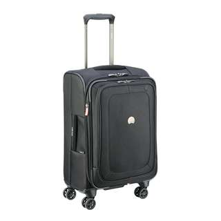 """Delsey Paris Pilot 4.0 Expandable 21"""" 21 Inch Spinner Carry On Cabin Sized Suitcase Luggage Business Travel Bag"""