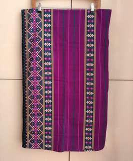 Traditional Thai Batik Printed Malong from Zamboanga