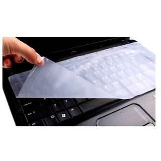 "Laptop Keyboard Silicon Protector/Cover [Size:13''-14'' 15''-17""]"