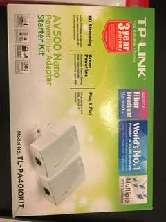 Wifi Extender (TP LINK Powerline Adaptor)