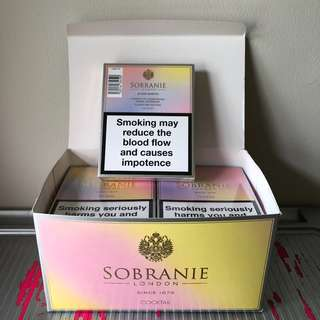 Sobranie Cocktail London Import