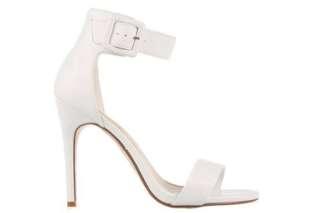 Isabella Brown - White Heels
