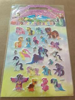 Little Pony Stickers