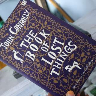 Novel the book of lost things