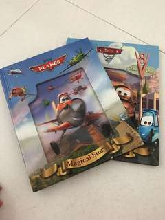 Disney's Cars and Planes picture books