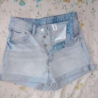 high waist shorts HNM
