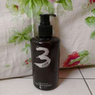 Ssndalwood hair * body shampoo