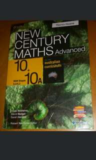 Yr 10 5.3 New Century Maths Advanced Maths Textbook