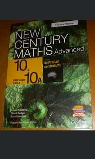 Yr 10 5.3 New Century Maths Advanced Maths Textbook