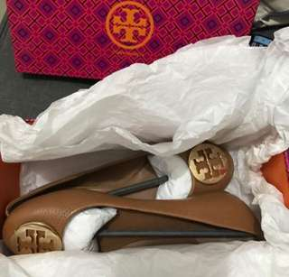 BRAND NEW TORY BURCH REVA ROYAL TAN