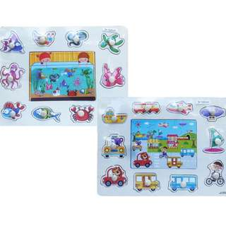 Mainan Puzzle Anak PUZZLE NAIL WITH BOARD - DHF62