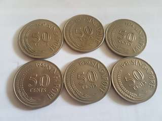 50 cents (Singapore)