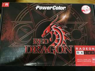 PowerColour RED DRAGON RX580 4GB