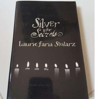 Silver is for Secrets by this authors name is too long just look at the picture