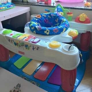 Fisher Price Piano Gym 玩具 琴